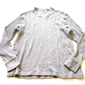 H&M gray long sleeve sweater large